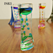 Sp <b>Double Colors Oil Hourglass</b> Liquid Floating Motion Bubbles ...