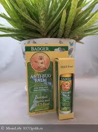 Badger Company, <b>Бальзам для защиты от</b> насекомых для детей ...