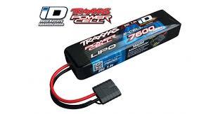 <b>Аккумулятор</b> Li-Po, <b>7600мАч</b>, <b>7.4В</b>, 2S, 25C с разъемом <b>Traxxas</b> iD ...
