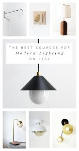 best modern lighting on etsy best modern lighting