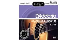 Купить <b>D'ADDARIO</b> EXP13 - <b>Струны</b> для акустической <b>гитары</b> ...