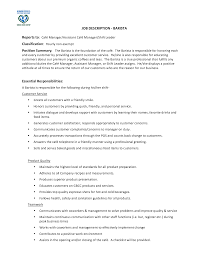 barista job description resume perfect resume 2017 barista job description resume