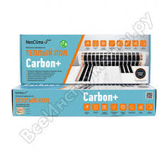 Отзывы о комплекте <b>тёплого пола Neoclima CARBON+</b> 230-0,5-1 ...