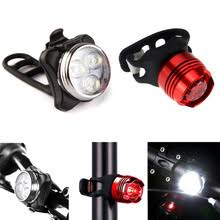 <b>Bicycle Light</b> USB Rechargeable 3 Modes <b>LED Bike Lights</b> Bicycle ...