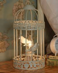 full size of decoration beautiful white birdcage table lamp decorative accent metal material one bulb beautiful lighting fixtures