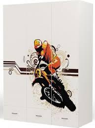 <b>Шкаф трехдверный ABC King</b> (Advesta) Extreme Moto купить в ...