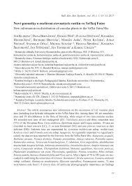 (PDF) Ostrica blšná (Carex pulicaris) – nový druh vo Veľkej Fatre ...