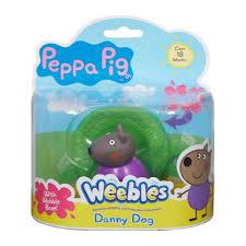 <b>Фигурка</b>-<b>неваляшка Peppa Pig</b> - Щенок Денни от Росмэн ...