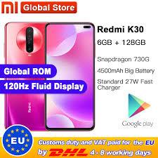 Global ROM <b>Original Xiaomi Redmi K30</b> 6GB 128GB 4G ...