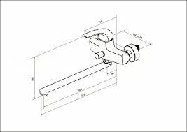 <b>AM</b>.<b>PM</b> F7590032 Sense, <b>смеситель д</b>/ванны/душа, излив 300 мм ...