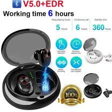 <b>Bluetooth 5.0 Headset Mini</b> TWS Twins V5 Wireless In-Ear Stereo ...
