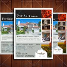 open house real estate professional marketing template real for by owner flyer design product 1