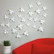 umbra wallflower wall decor white set:  umbra wallflower wall decor white wall flowers umbra wallflower wall decor awesome umbra wallflower wall decor