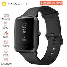Смарт часы <b>Xiaomi Amazfit</b> Bip Huami GPS <b>Умные часы</b> [ Русский ...