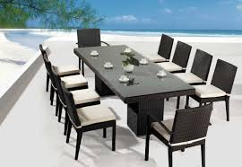 dining table contemporary outdoor