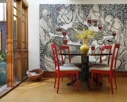 room dining atrium artwork large coastal artwork large wall home design ideas pictures remodel traditio