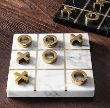 Marble Tic-Tac-Toe Game