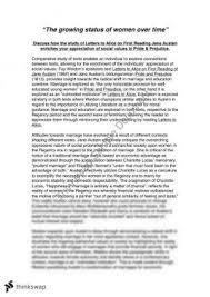 essays on pride and prejudice by jane austen   essay topic suggestionspride and prejudice essay sample  status of women