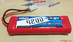 <b>Аккумулятор nVision Ni-Mh</b> 7.2V 4200мАч