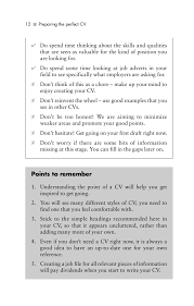 preparing the perfect c v 3rd ed rebecca corfield geo pedia 12 ᔡ preparing the perfect cv 21