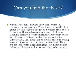 Thesis Statements The Roadmap for your essay  What is a thesis     Try again        Psychologists have argued for decades about how a person     s character is formed