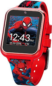 Marvel Boys' Touch-Screen Watch with Silicone Strap ... - Amazon.com