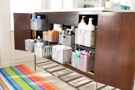 gallery bathroom cabinet organizer