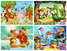 Puzzles for Kids Ages 4-8 Year Old, 60 Piece Wooden ... - Amazon.com