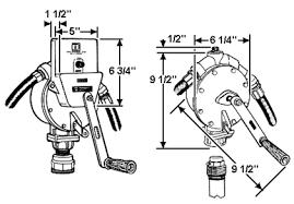 fill rite fr112 rotary hand pump fr112 diagram