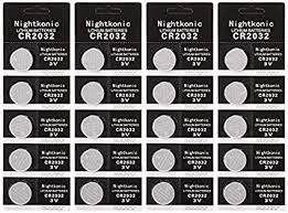 20 pcs Pack - CR2032 Lithium Battery 230mAh 3v ... - Amazon.com