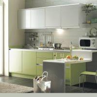 gallery kitchens chic white modular kitchen