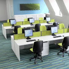 X-Range <b>Rectangular Desk with</b> Panel End - DBI Furniture Solutions