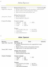 resume format font great examples samples sample  choose a basic    resume