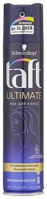Taft <b>Лак для волос</b> Ultimate, экстрасильная фиксация — купить по ...