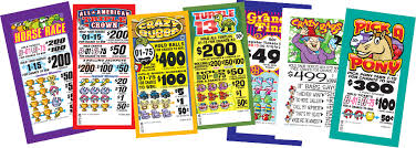 Image result for bingo pull tab image