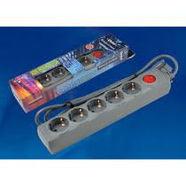 <b>Сетевой фильтр Uniel</b> Universal <b>S</b>-<b>GSU5</b> 1,<b>5</b> м купить с доставкой ...