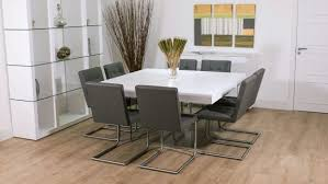 Square Dining Room Table With 8 Chairs Square Dining Room Table For 8 High Dining Table
