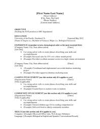 examples of resumes example job resume good that get jobs in 93 mesmerizing resume examples for jobs of resumes