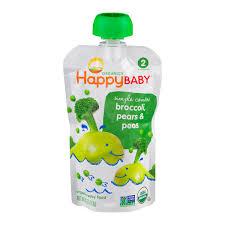 Save on HappyBaby <b>Simple</b> Combos <b>Stage 2</b> Baby Food Broccoli ...