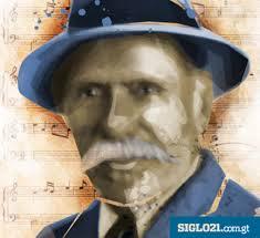 La música del Himno Nacional era la que se usaba para el antiguo himno popular, que había compuesto Rafael Álvarez Ovalle y siguió funcionó muy bien para la ... - RafaelAlvarezOvalle