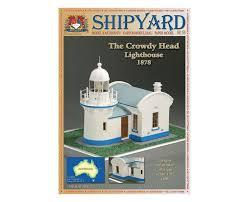 Купить <b>Сборная картонная модель Shipyard</b> маяк Lighthouse ...