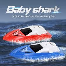<b>JJRC S5 Baby Shark</b> Boat, 2.4G RC Boat 20Mins Running Time ...