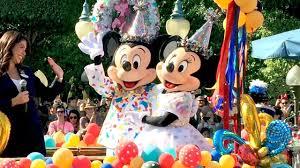 Mickey & <b>Minnie Mouse</b> 90th Birthday <b>DISNEYLAND</b> Parade w ...