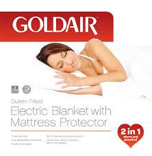 Queen Electric Blanket with Mattress Protector <b>GUB</b>-<b>Q</b> - Goldair