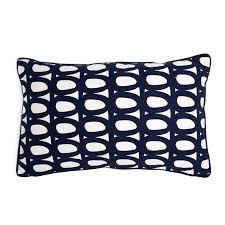 <b>Чехол для подушки</b> с двустронним принтом Twirl <b>темно</b>-<b>синего</b> ...
