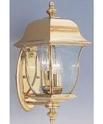 designers fountain gladiator outdoor pvd wall lantern polished brass 1542pvdpb brass lighting fixtures
