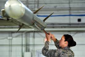 u s department of defense photo essay air force airman 1st class victoria baldwin king adjusts an aim 120 advanced medium