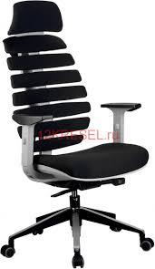 Эргономичное <b>кресло RIVA CHAIR RCH</b> Shark светло-серый ...