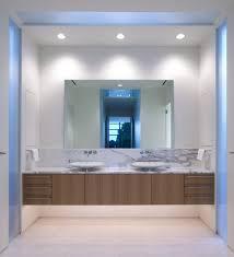 contemporary styles lights modern bathroom lighting recessed white led chrome design inspiration idea white sink mirror bathroom lighting design modern