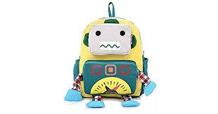 <b>Children's bag</b> Cartoon Robot <b>Children's School Bag</b> Kindergarten ...